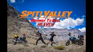 Spiti Valley  Wroom Couple Riding On Dangerous Roads  Yamaha FZ25
