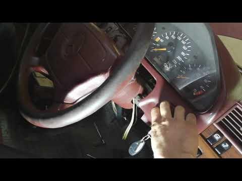 Замена замка зажигания Mercedes Benz W202 1994 год