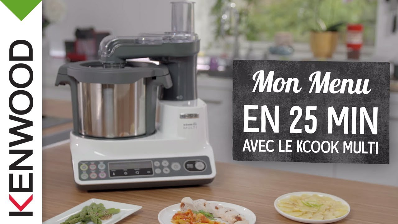 Menu Complet Et Delicieux En 25 Minutes Avec Le Kcook Multi Ccl405wh De Kenwood Youtube