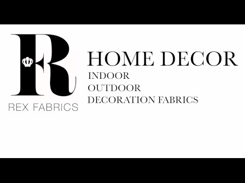 Rex Fabrics Miami: Home Decore Section. Upholstery Fabrics, Indoor-Outdoor Fabrics