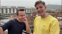 Tero Karhu ja Tuomas Virkkunen  Barcelonassa - kysy ihan mitä vaan | C More Sport