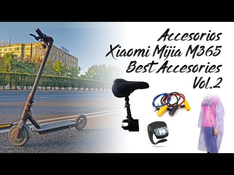 Xiaomi Mijia M365 Accesorios 🛴 Best Accesories Electric Scooter Vol2 Mi Scooter