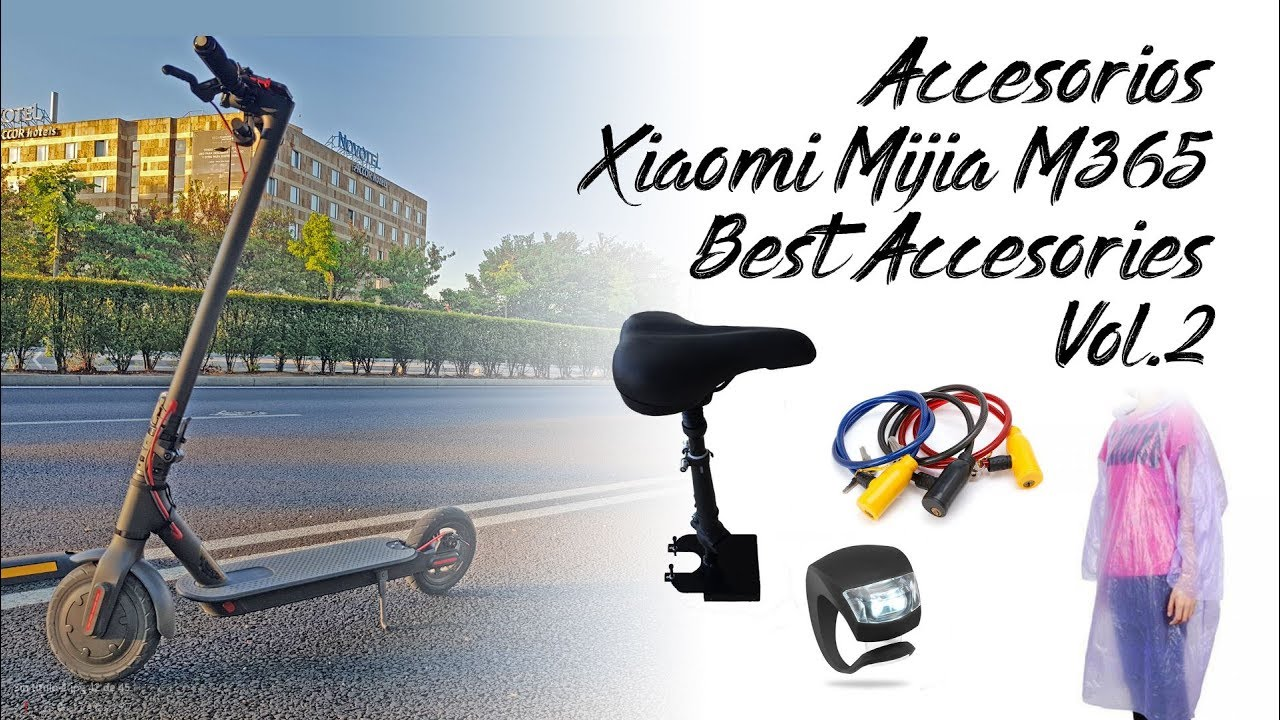 xiaomi mijia m365 accesorios best accesories electric. Black Bedroom Furniture Sets. Home Design Ideas