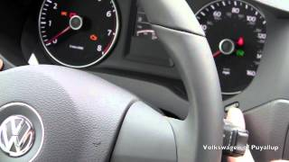 Setting the Clock on your Volkswagen - (VW Jetta) - VW of Puyallup