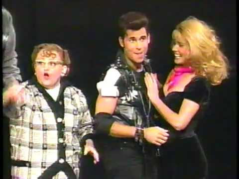 Broadway cast of GREASE! Original Revival Company 1994 TONY AWARDS