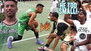 Julian Newman PULLS UP To NYC at DYCKMAN!!! MAKES IT RAIN