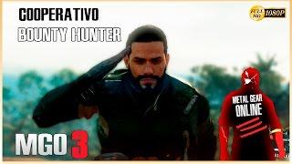 MGO 3 - Metal Gear Online 3 Gameplay Español | Bounty Hunter Coop - Amber Station
