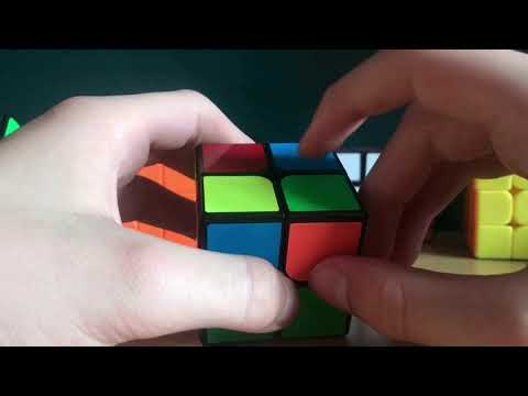 How to solve  the 2x2 Rubik's cube (beginners method) Can you solve it
