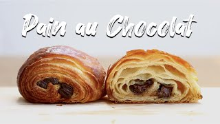 How To Make Chocolate Croissants  Homemade Chocolate Croissants Recipe  Pain Au Chocolat Recipe