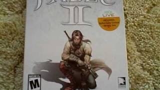Fable 2 Limited Edition Unboxing