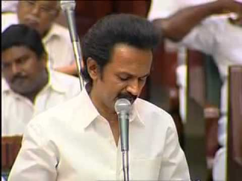 Deputy CM MK.Stalin delivers a excellent speech at Tamilnadu