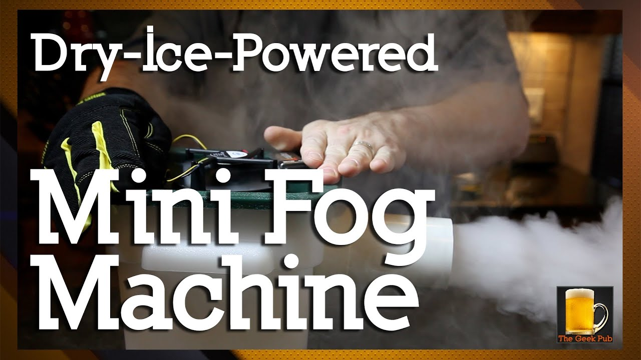 How To Make A Dry Ice Powered Mini Fog Machine