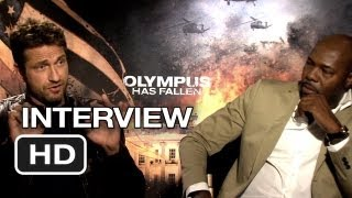 Olympus Has Fallen Interview - Gerard Butler & Anton Fuqua (2013) Movie HD