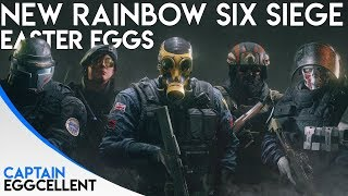 NEW Rainbow Six Siege Easter Eggs - New Hereford Base Update
