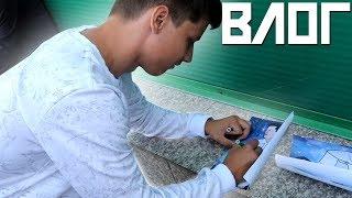 Vlog - ПЕРВЫЙ ВЛОГ, СХОДКА ПОДПИСЧИКОВ, БАТУТНЫЙ ЦЕНТР!