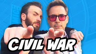 Captain America Civil War Trailer Theories