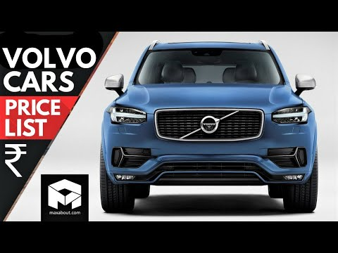 Volvo Cars Price List in India [2018]