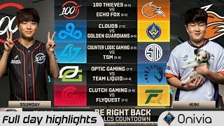 Full Day Highlights NA LCS Summer 2018 W8D1 By Onivia