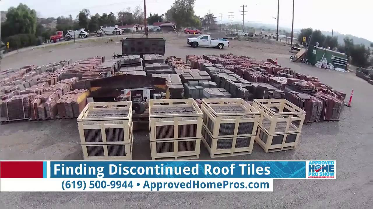 Finding Discontinued Roof Tiles   Extreme Roofing On The Approved Home Pro  Show