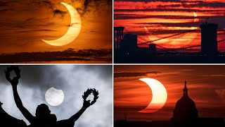 video: Watch: Solar eclipse seen in UK and around the world