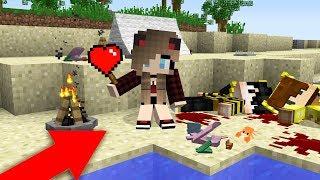 KORKUN KIZ AK MELE OLDU AIK OLDUM  Minecraft