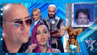 ¡NO INTENTES HACERLO EN CASA! estos artistas SABEN lo que significa el RIESGO | Got Talent España