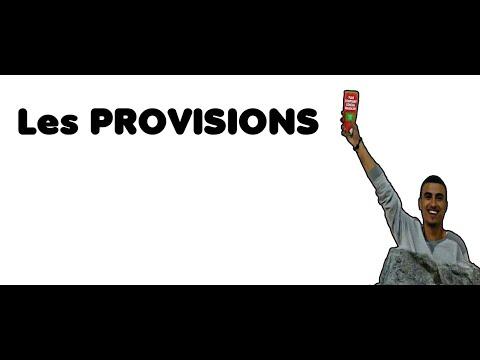 COMPTABILITE GENARALE : LES TRAVAUX D'INVENTAIRES : LES PROVISIONS (CREANCE et TP;TVP) DARIJA