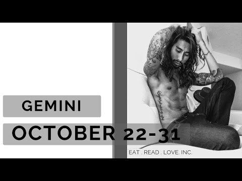 GEMINI SOULMATE BYE BLACK BOOK HELLO NOTEBOOK OCT 22 31 WEEKLY TAROT READING