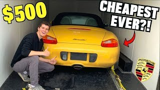 Download I Bought a TOTALED Porsche For $500 at Salvage Auction SIGHT UNSEEN! Mp3 and Videos