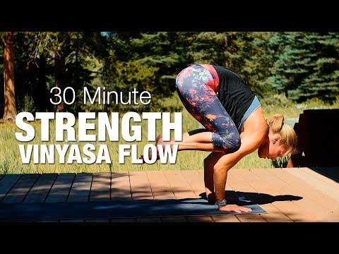 30 Minute Strength Vinyasa Flow Yoga Class - Five Parks Yoga