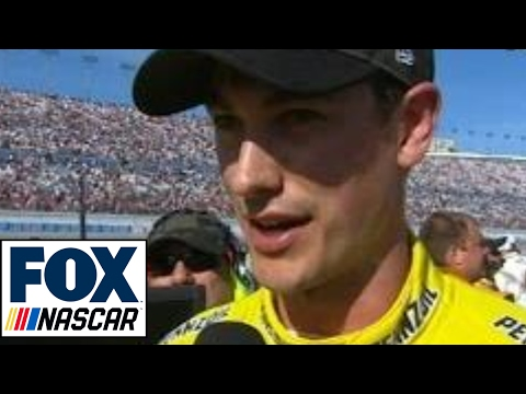 Joey Logano Reacts to Kyle Busch After Fight | 2017 LAS VEGAS | FOX NASCAR