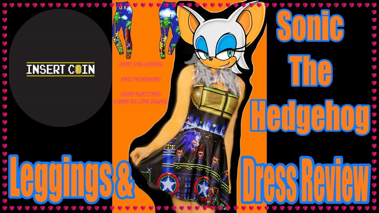 insert coin clothing sonic the hedgehog dress