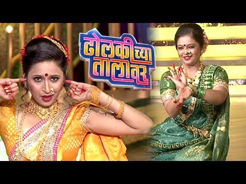 Dholkichya talavar marathi lavani video songs   marathi song.