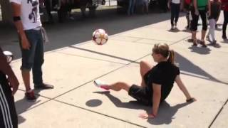 Pan Am Games 2015 Launch  - Soccer Tricksters show off their skillz