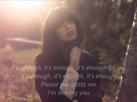 Leaving You - Maria Mena (Lyrics)