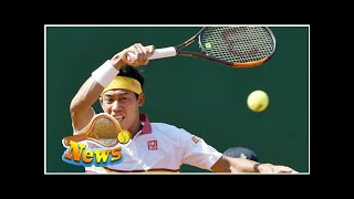 Tennis: kei nishikori advances to semifinals in monaco
