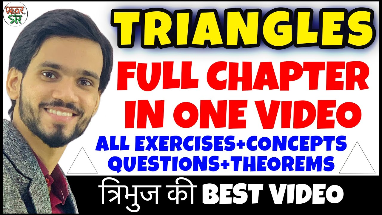 Download Triangle   Triangles Class 10   Class 10 Maths Chapter 6   Full Chapter/Introduction/Theorem   Math