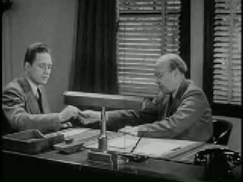 Using the Bank - a 1947 Public Domain Film