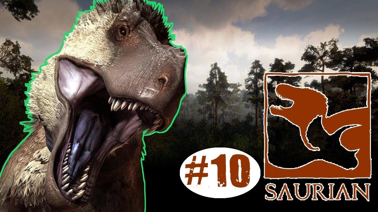 حياة الديناصورات 10 الى متى يعني Saurian Youtube