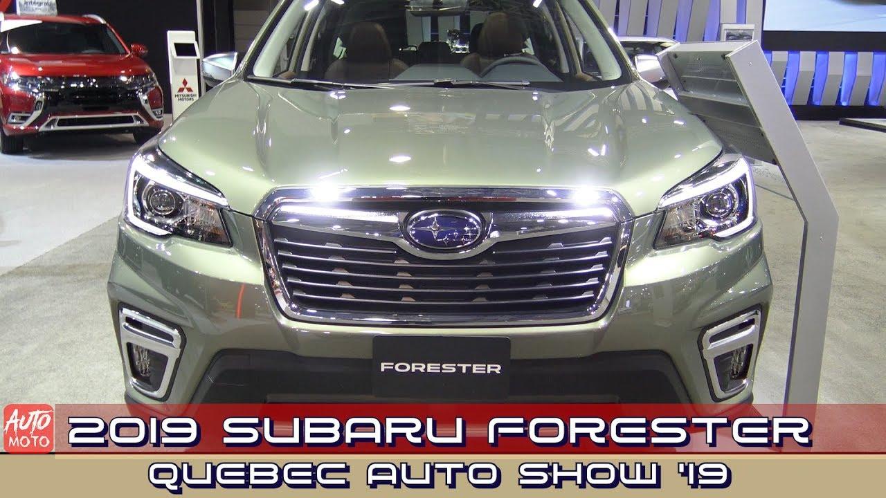 2019 Subaru Forester AWD - Exterior And Interior - 2019 Quebec Auto Show
