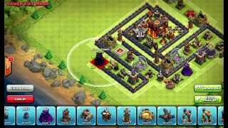 Clash of Clans Layouts - Town Hall 10 Defense Layout 50 (Morgan) with 275 Walls