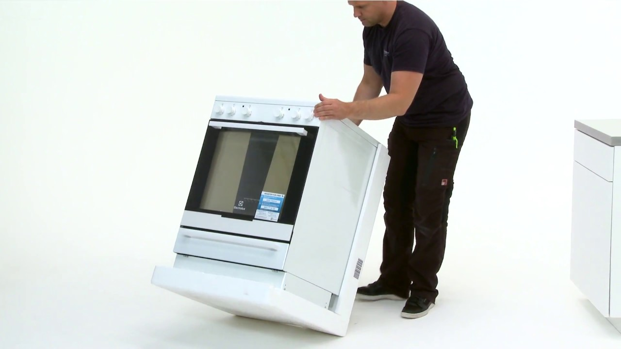 how to install your freestanding electrolux oven [ 1280 x 720 Pixel ]