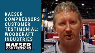 Kaeser Compressors Customer Testimonial Woodworking Tradeshow (Nick D. Woodcraft Industries)