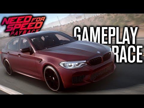 NEED FOR SPEED PAYBACK   FIRST RACE BMW M5 GAMEPLAY!!!