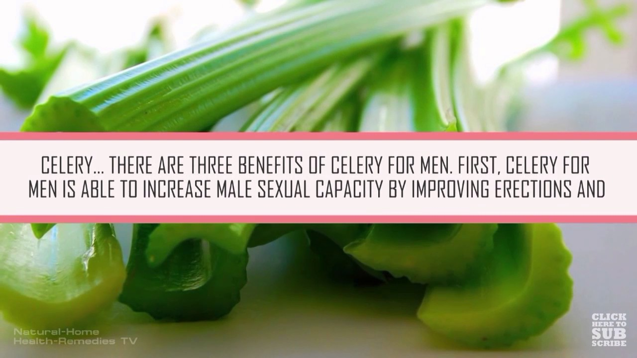 What Is Celery Good For Sexually
