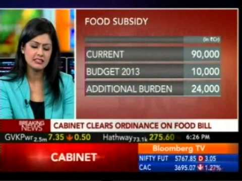 A discussion on Food Security Bill