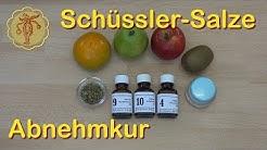 Schüssler-Salze Abnehmkur