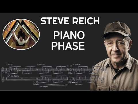 Steve Reich piano phase