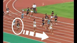 多田修平の追い上げ 予選4 4x100m 男子リレー日本インカレ陸上2017 多田修平 検索動画 24