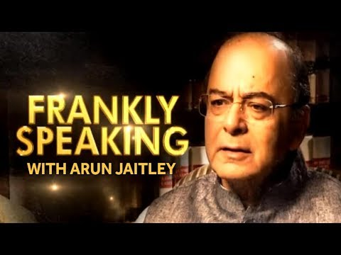 Frankly Speaking With Arun Jaitley - Exclusive Interview